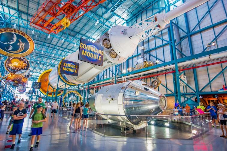 NASA Kennedy Space Center; Courtesy of NaughtyNut/Shutterstock