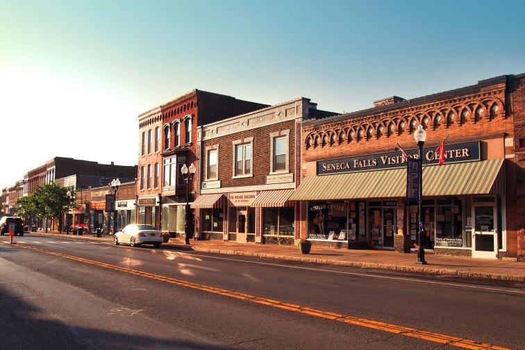 Downtown Seneca Falls, New York