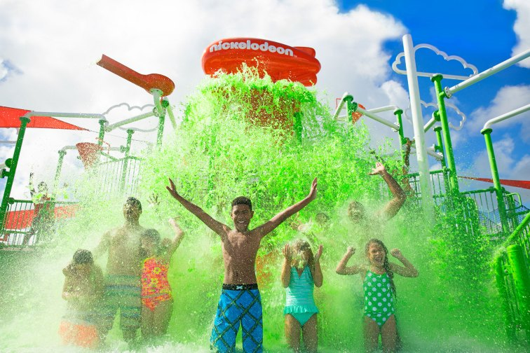 Aqua Nick; Courtesy of Nickelodeon Hotels and Resorts Punta Cana