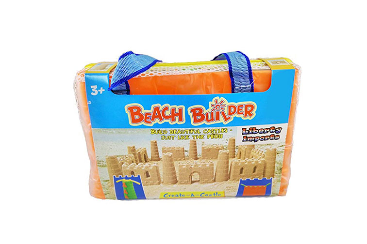 Beach Builder Create-A-Sand Castle Building Kit