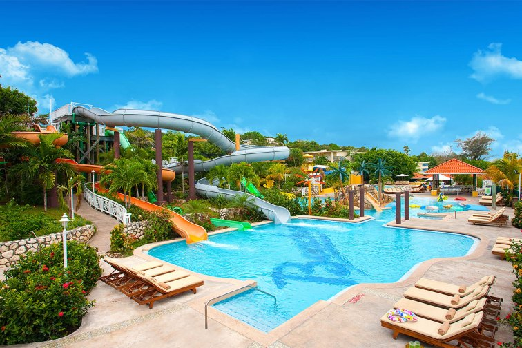Water Park at Beaches Ocho Rios; Courtesy of Beaches Resorts