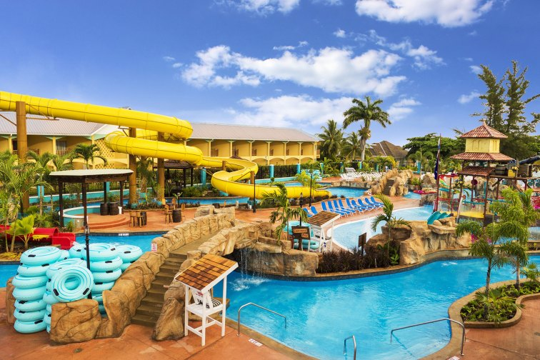 Water Park at Jewel Runaway Bay Beach & Golf Resort; Courtesy of Jewel Runaway Bay Beach & Golf Resort