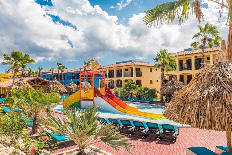 Water Park at Kunuku Aqua Resort in Curacao; Courtesy of Kunuku Aqua Resort