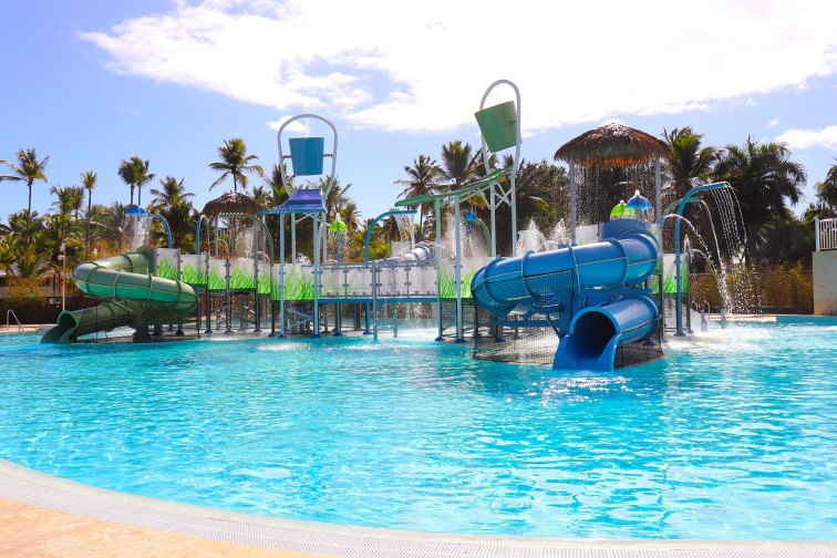 Water Park at Melia Caribe Beach Resort; Courtesy of Melia Caribe Beach Resort