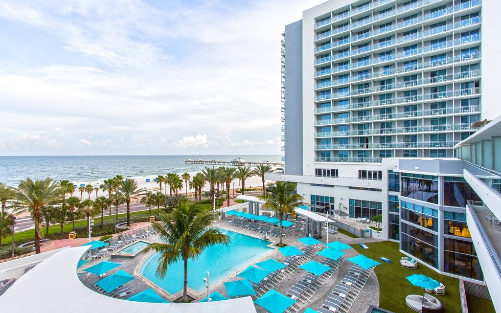 Pool at the Wyndham Grand Clearwater Beach; Courtesy of Wyndham Grand Clearwater Beach