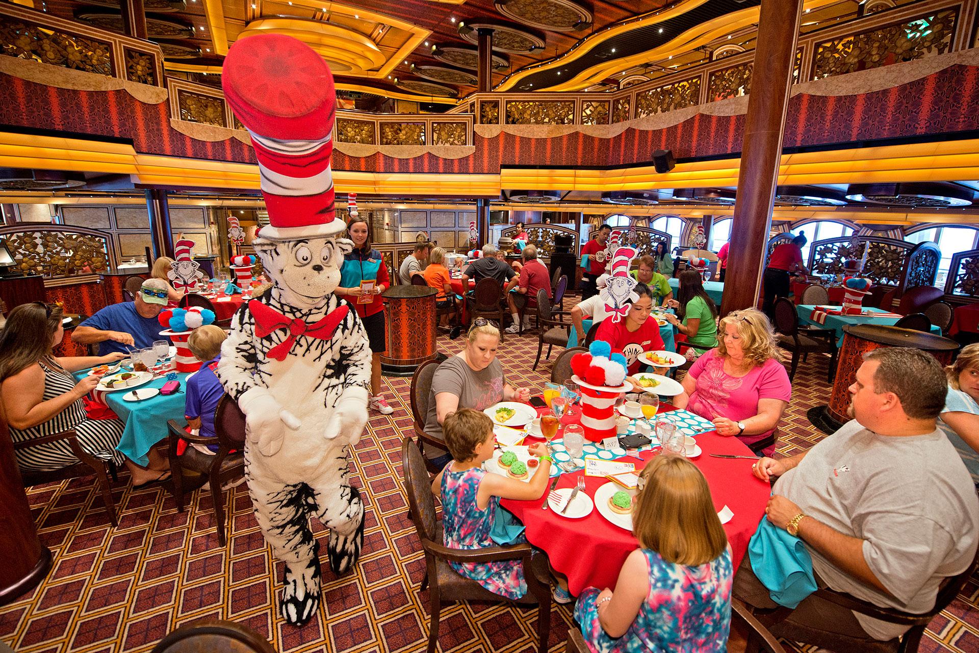 Seuss at Sea on Carnival Cruise Line' Courtesy of Carnival Cruise Line
