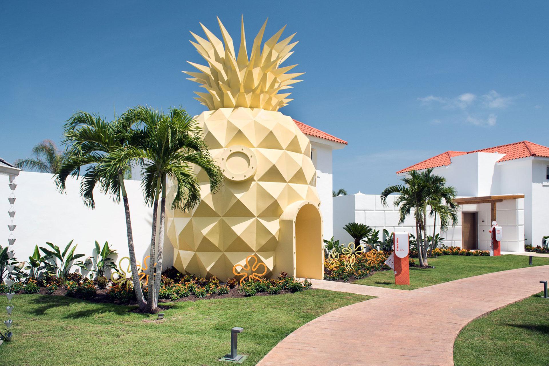 Spongebob Squarepants Suite at Nickelodeon Hotels and Resorts Punta Cana; Courtesy of Nickelodeon Hotels and Resorts Punta Cana