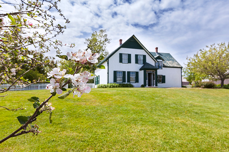Prince Edward Island, Canada Anne of Green Gables House; Courtesy COSPV/Shutterstock