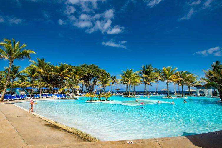 Pool at Coconut Bay Beach Resort and Spa; Courtesy of Coconut Bay Beach Resort and Spa