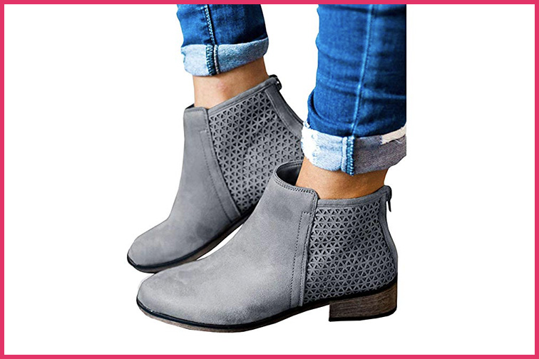 Fashare Women's Ankle Boots; Courtesy of Amazon