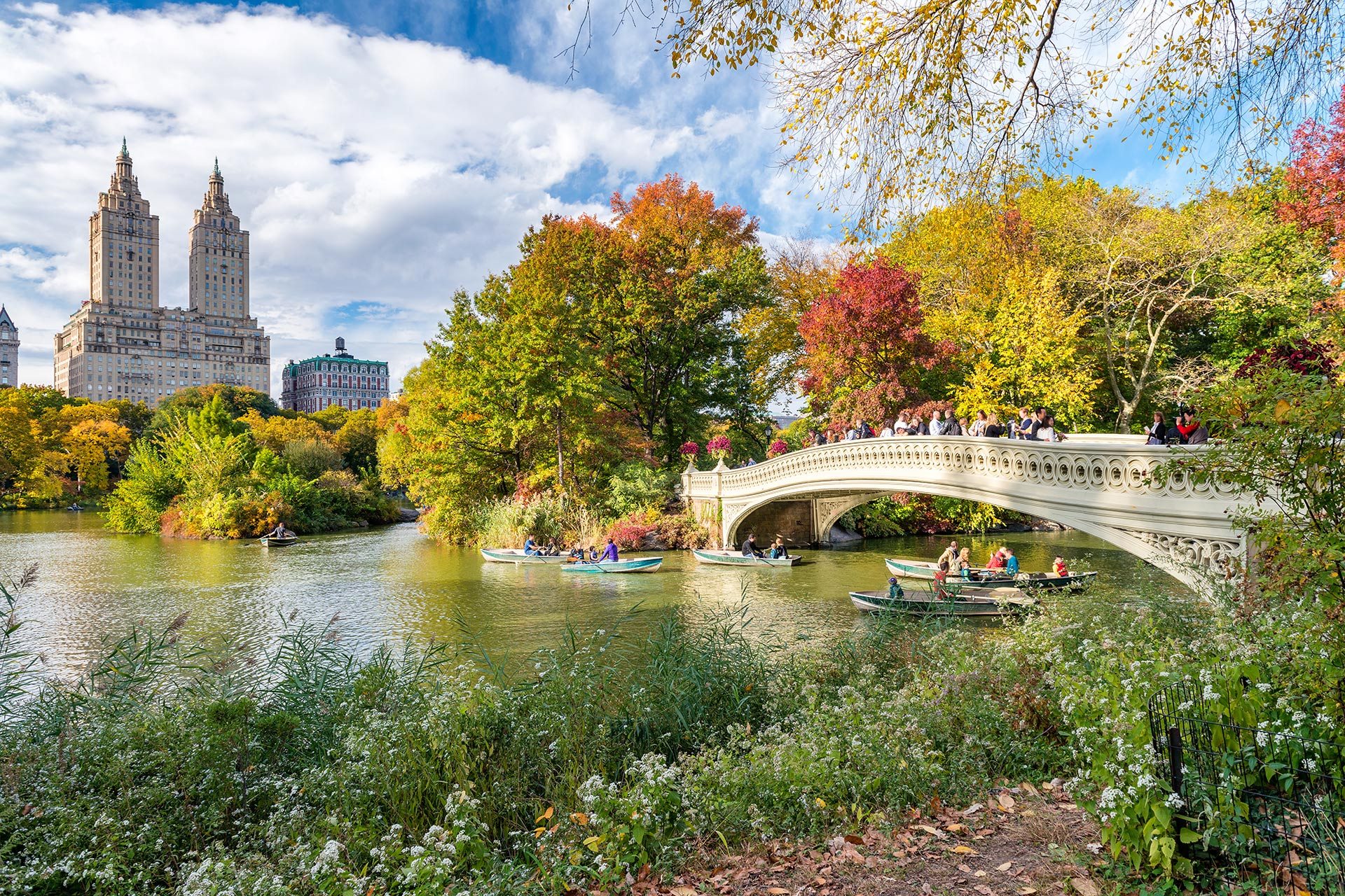 Central Park in the Fall; Courtesy of GagliardiImages/Shutterstock.com