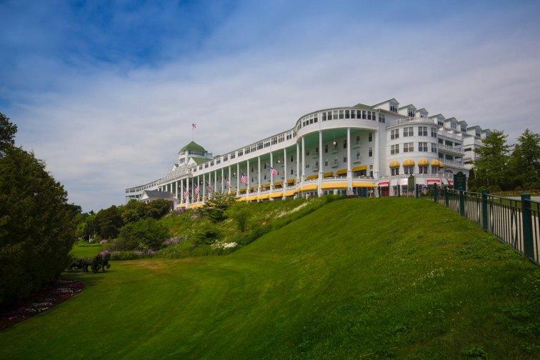 The Grand Hotel on Mackinac Island in Michigan