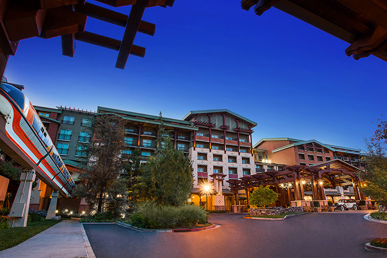 Disney's Grand Californian Hotel in Anaheim, CA