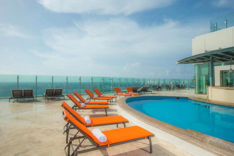 Pool at Beach Palace Cancun - Cancun, MX - All Inclusive Resort