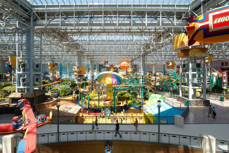 Nickelodeon Universe in Bloomington, MN at the Mall of America