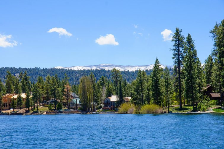 Big Bear Lake in California
