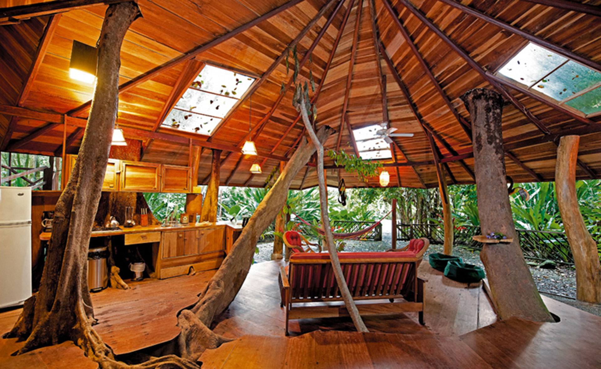 Treehouse Room at Tree House Lodge in Costa Rica; Courtesy of Tree House Lodge