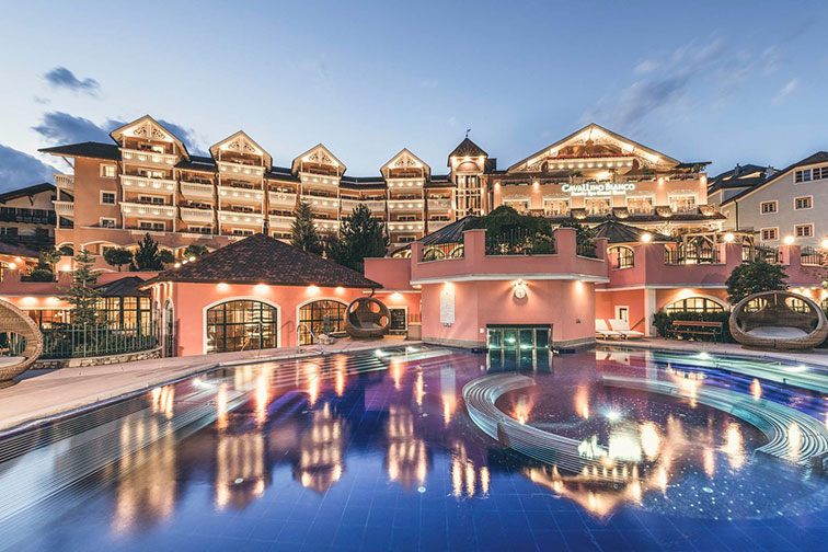 Cavallino Bianco Family & Spa Grand Hotel in Ortisei, Italy