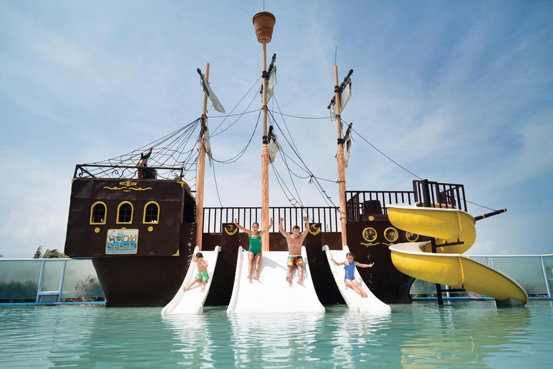 The water park at Panama Jack Resorts Cancun; Photo Courtesy of Panama Jack Resorts Cancun
