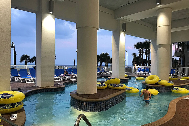 Water Park at South Bay in & Suites in Myrtle Beach, SC