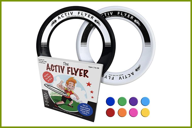 Activ Life Kid's Frisbee Rings; Courtesy of Amazon