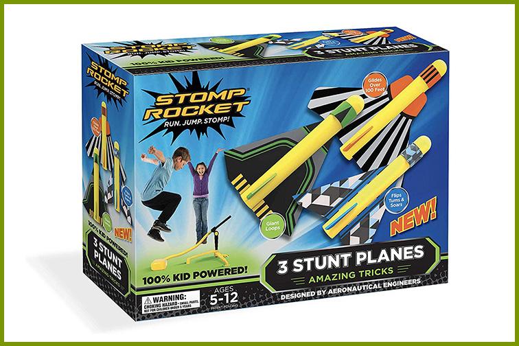 Stomp Rockets Stunt Planes; Courtesy of Amazon