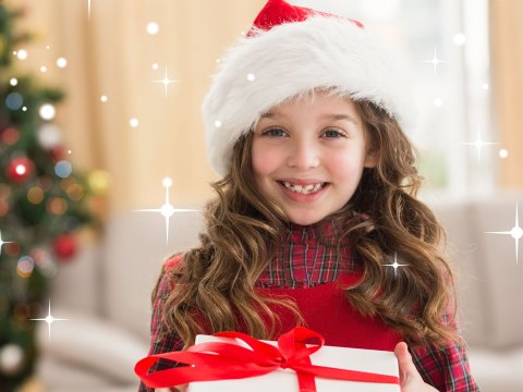 Tween Girl at Christmas; Courtesy of wavebreakmedia/Shutterstock.com