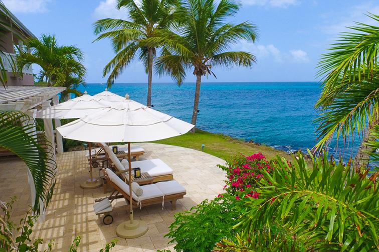 Curtain Bluff Resort in Antigua; Courtesy of Curtain Bluff Resort