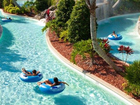 Lazy River at Hilton Orlando; Courtesy of Hilton Orlando