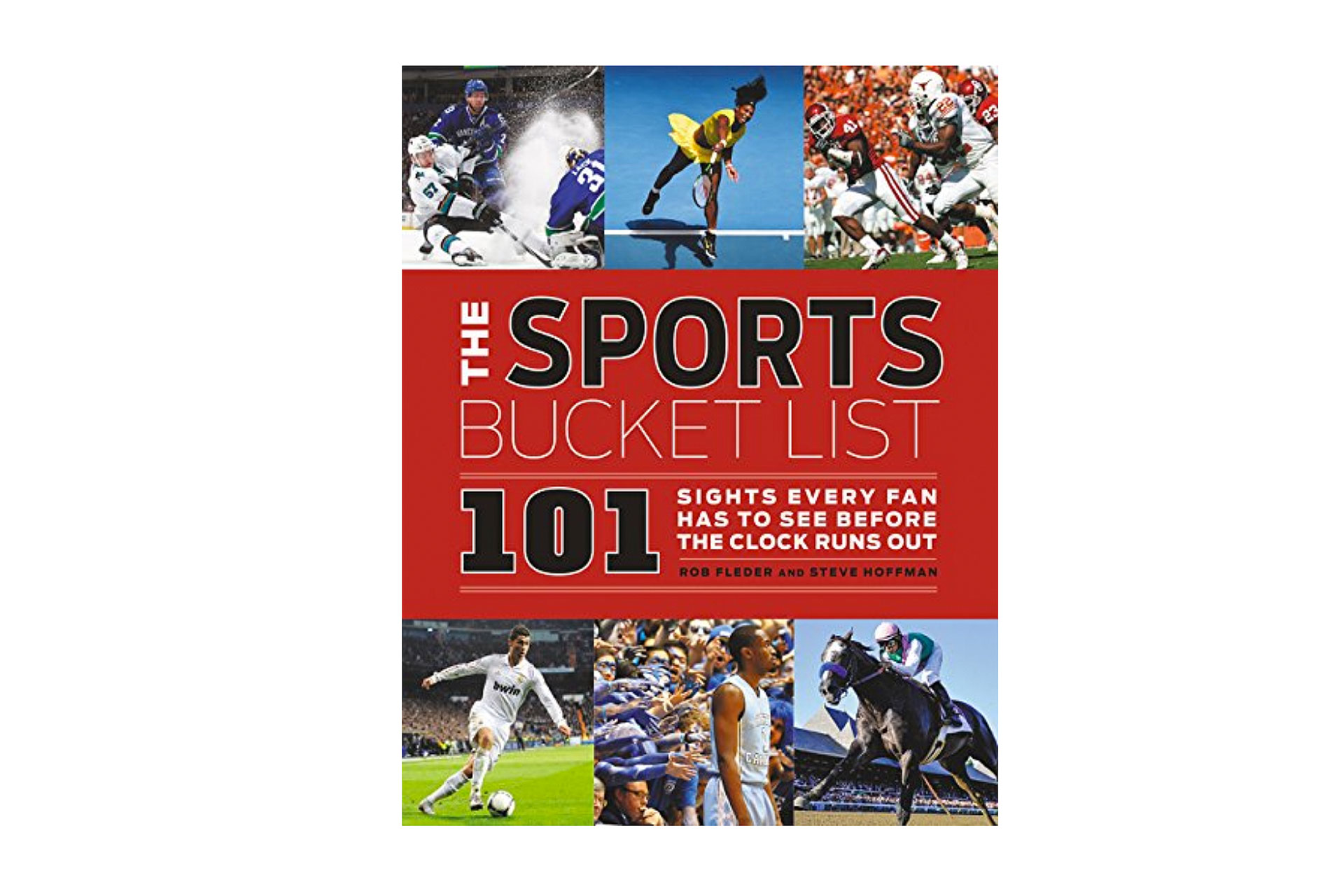 Sports Bucket List Book; Courtesy of Amazon
