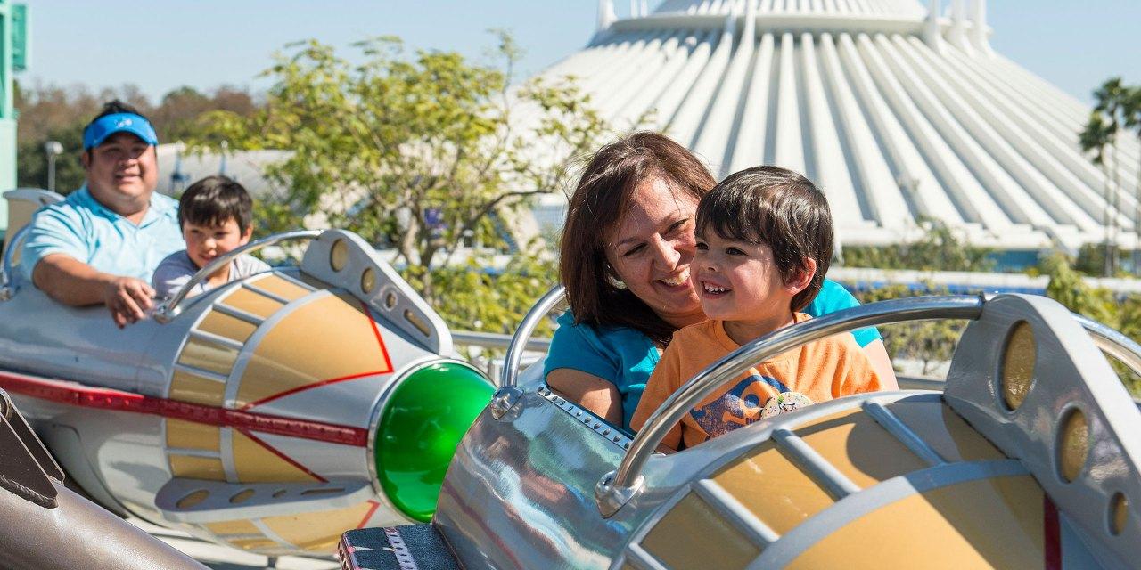 Preschoolers at Disney World; Courtesy of Disney