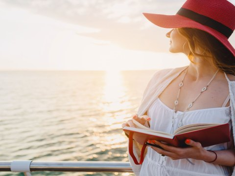 Reading On A Cruise; Courtesy of MRProduction/Shutterstock.com