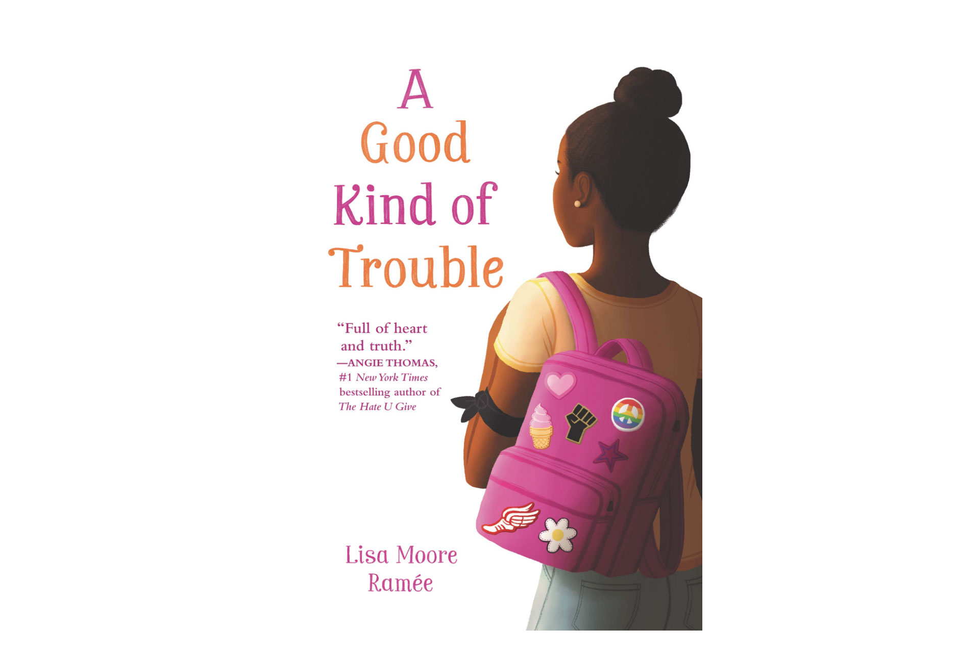 A Good Kind of Trouble Book; Courtesy of Amazon