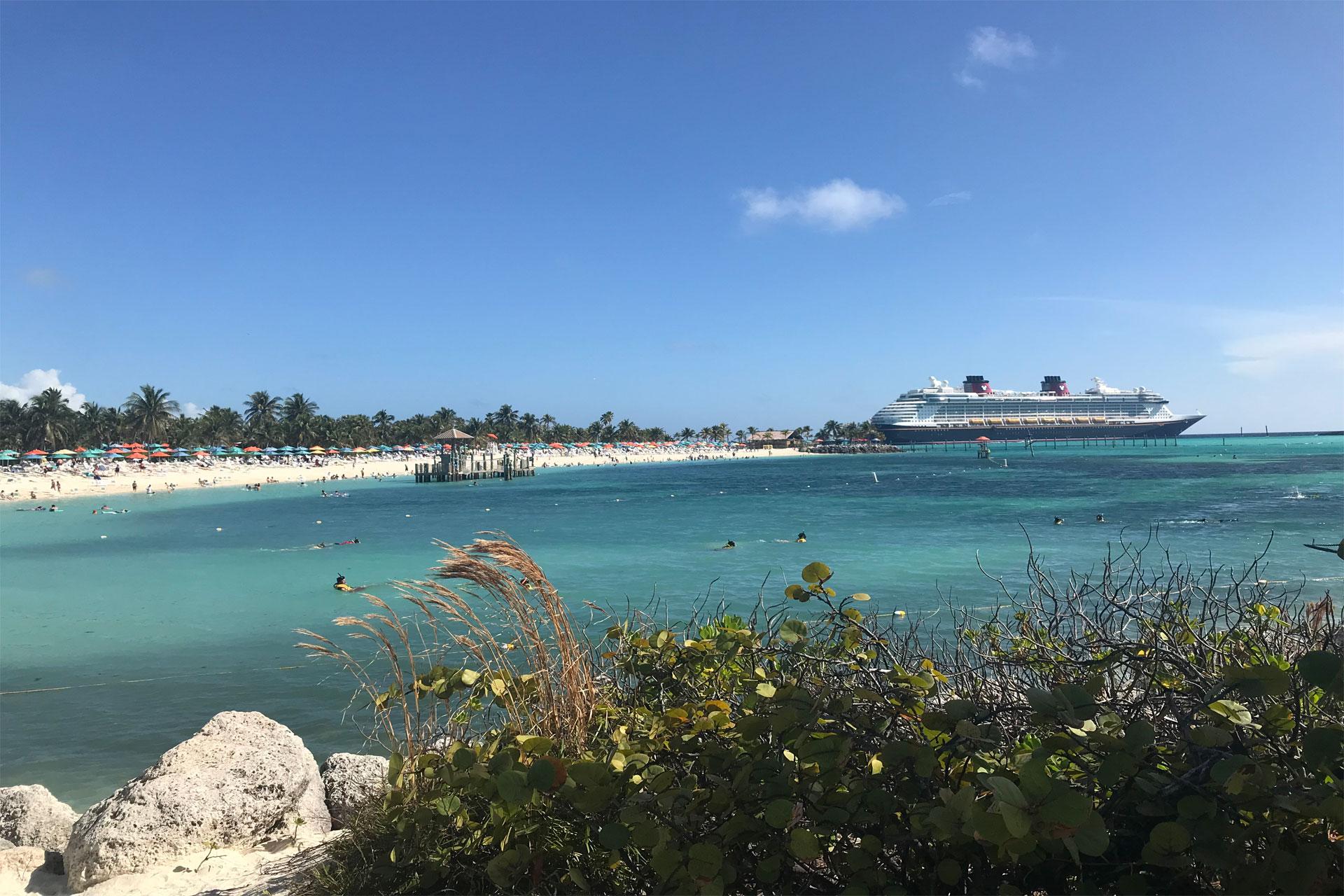 Disney Cruise Line Dream at Castaway Cay; Courtesy of Courtney Elko