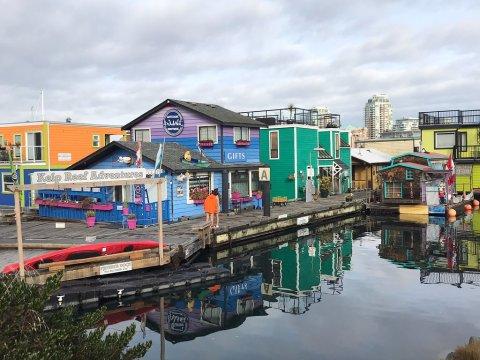 Fisherman's Wharf in Victoria, Canada ; Courtesy of TripAdvisor Traveler On The Road Again