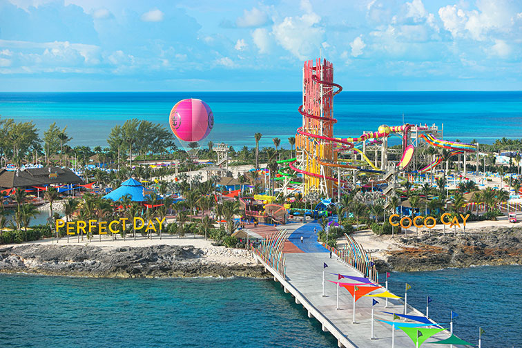 Daredevil's Peak at Royal Caribbean's Perfect Day at CocoCay
