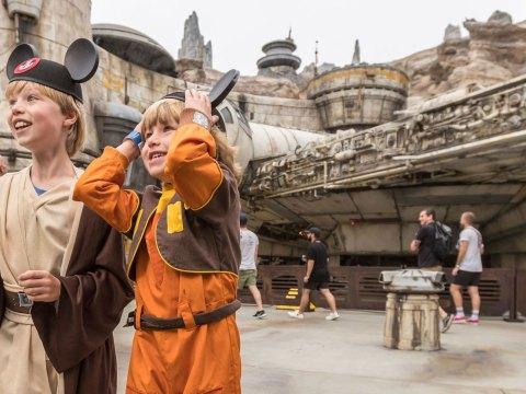 Star Wars: Galaxy's Edge at Disneyland Park in Anaheim, California; Courtesy of Disneyland Resort