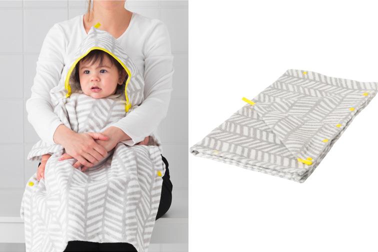 KLÄMMIG Hooded Towels; Courtesy of Ikea