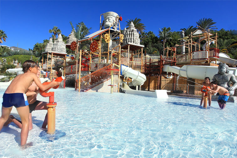 Siam Park Water Park in Tenerife, Spain