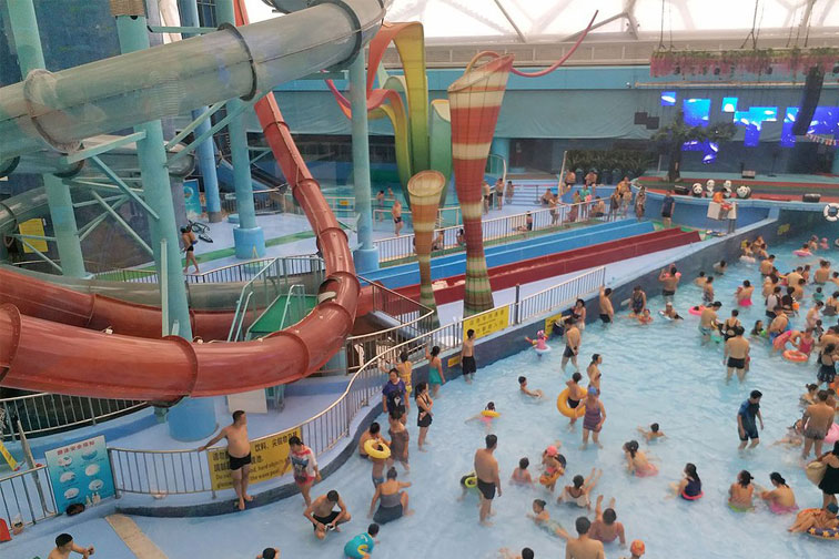 Water Cube Water Park in China; Courtesy of TripAdvisor Traveler Kimagic
