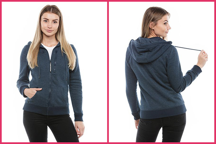 BauBax Women's Sweatshirt 2.0; Courtesy of Baubax