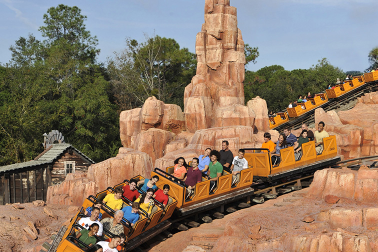 Big Thunder Mountain Railroad; Courtesy of Walt Disney World