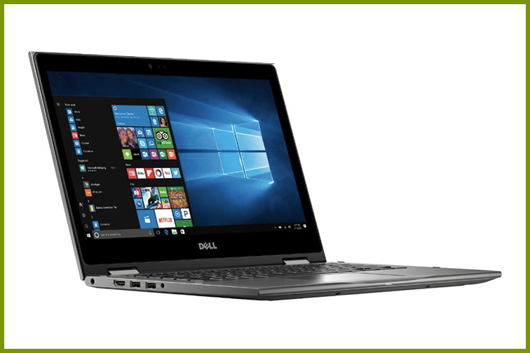 """Dell - Inspiron 2-in-1 13.3"""" Touch-Screen Laptop; Courtesy of Best Buy"""