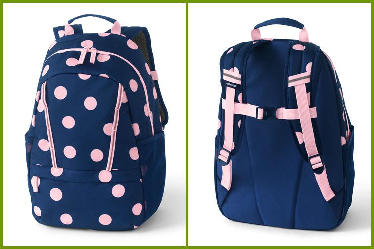 Lands' End Kids ClassMate Small Backpack; Courtesy of Lands' End