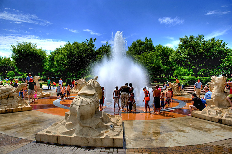 Coolidge Park; Courtesy of Chattanooga CVB