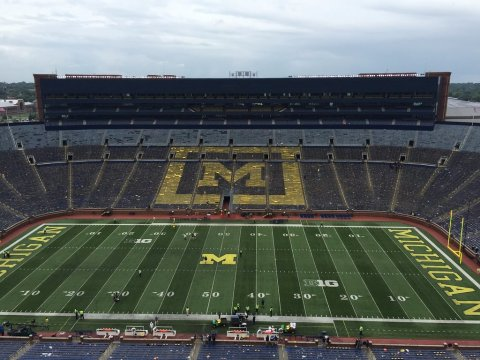University of Michigan Football Stadium The Big House; Courtesy of TripAdvisor Traveler ssy24