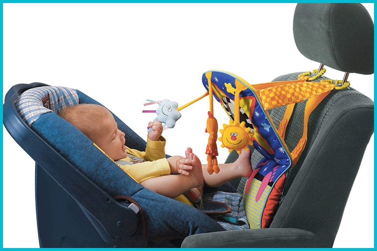 Taf Toys Toe Time Infant Car Seat Toy; Courtesy of Amazon