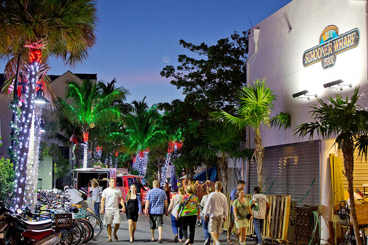 key west florida harbor walk of lights; Courtesy of ROB O'NEAL/The Citizen