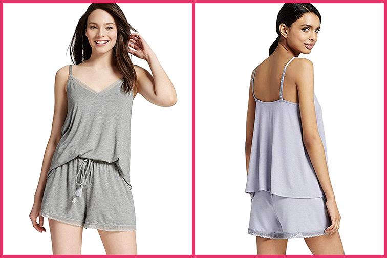 Gilligan & O'Malley Women's Shorts Pajama Set ; Courtesy of Amazon
