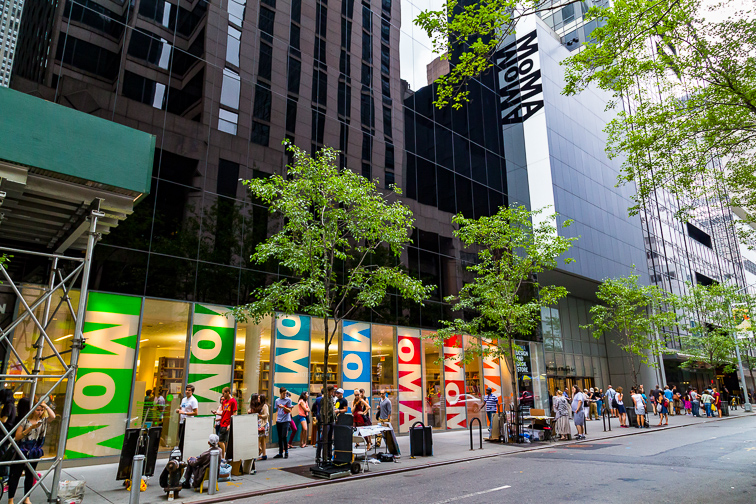 MOMA's Art Lab ;Courtesy of NYC & Company